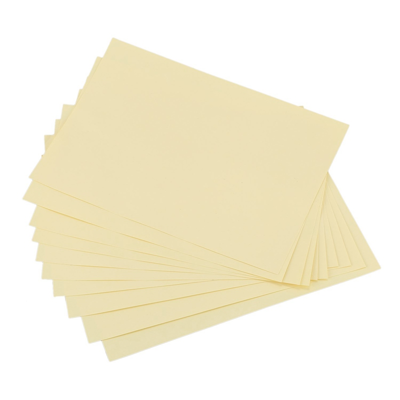 10 X A4 Clear Transparent Label Glossy Self Adhesive Sticker Paper  Inkjet Label
