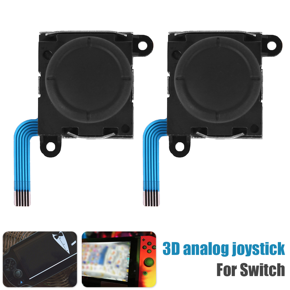 2 шт. 3D Аналоговый джойстик Джойстик для NINTENDO Switch Joy-Con контроллер