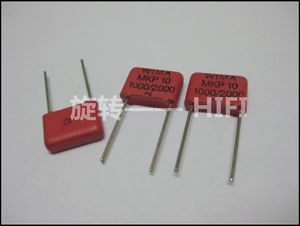 Image 2 - 10PCS אדום WIMA MKP10 1NF 2KV p10mm מקורי חדש MKP 10 102/2000V אודיו 0.001UF סרט 102 PCM10 מכירה לוהטת 1000pf 1nf/2000v