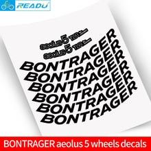 цена на Bicycle road bike rim aeolus 5 stickers road bike carbon wheelset decals rim height 50mm