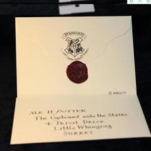 3 шт./компл., ожерелье Поттер из фильма «Harri», письмо Хогвартс, поезд, билет, фигурка, игрушка, Гарри Поттер, ребенок, косплей, детские игрушки
