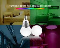 Milight FUT013 5W E14 RGB + wtc inteligentny RGB CCT żarówka LED reflektor led żarówka lampy 2.4G rf pilot zdalnego sterowania wifi 16 mln AC100 ~ 240V