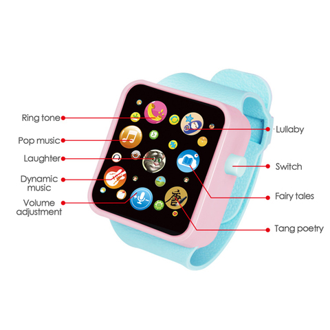 6 Colors Plastic Digital Watch for Kids Boys Girls High quality Toddler Smart Watch for Children Dropshipping Toy Watch Karachi