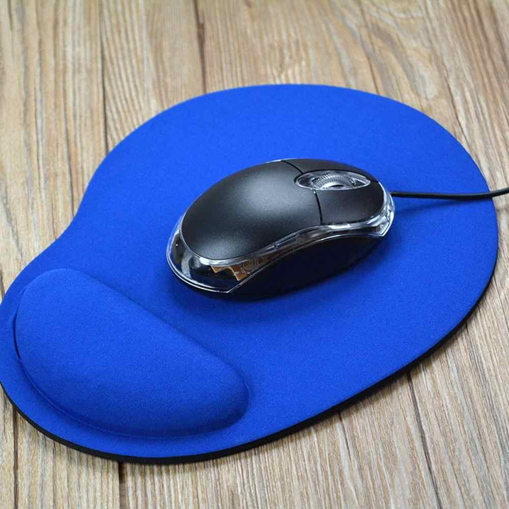 Small Feet Environmental Protection Eva Wrist Mouse Pad Computer Game Solid Color New Custom Logo