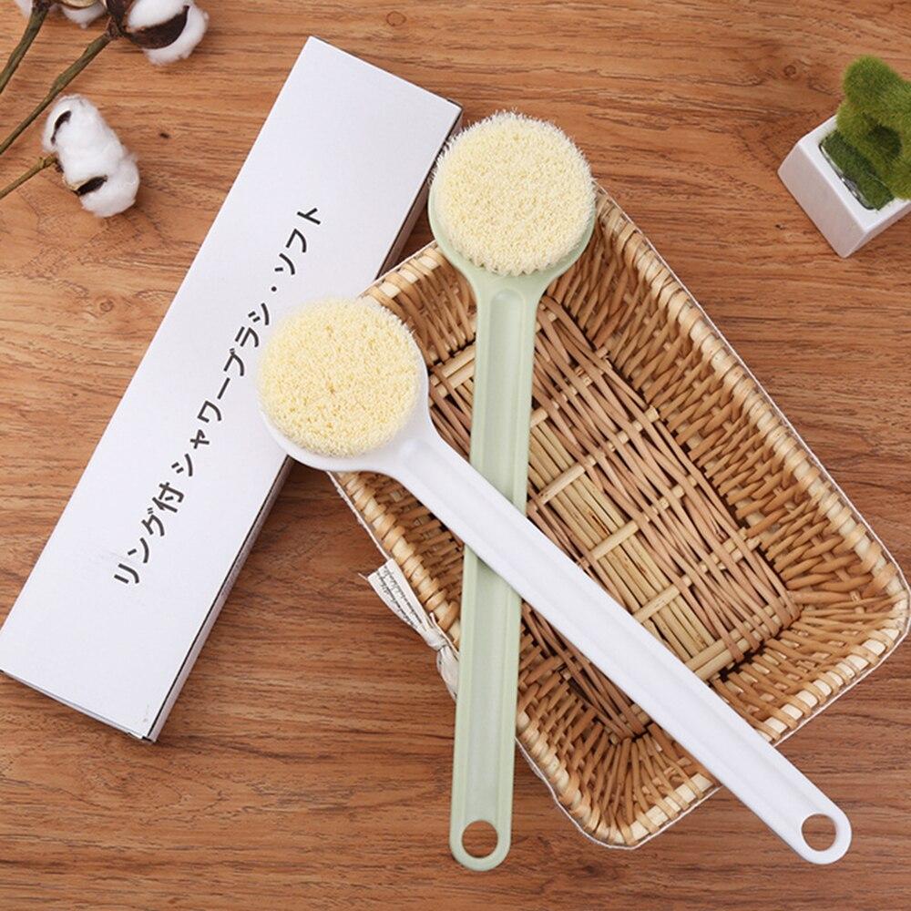 1 Pcs Explosive Models Bath Artifact Long Handle High Quality Nylon Soft Hair Adult Rub Back Bath Easy To Use Bath Brush