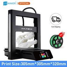 Jgmaker 3d impressora a5 atualizado a5s kit diy completo metal extrema alta precisão grande tamanho de impressão 305x305x320mm impressora 3d jgaurora