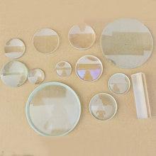 Equipamento de experimento óptico de diâmetro 3 4 5 cm, lente convexo côncava ótica dupla