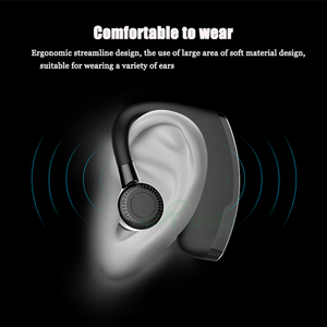 Image 2 - Roreta V9 Wireless Bluetooth Earphone Noise Control Business Wireless Bluetooth Headset With Mic Sports Earbuds Gaming Headset