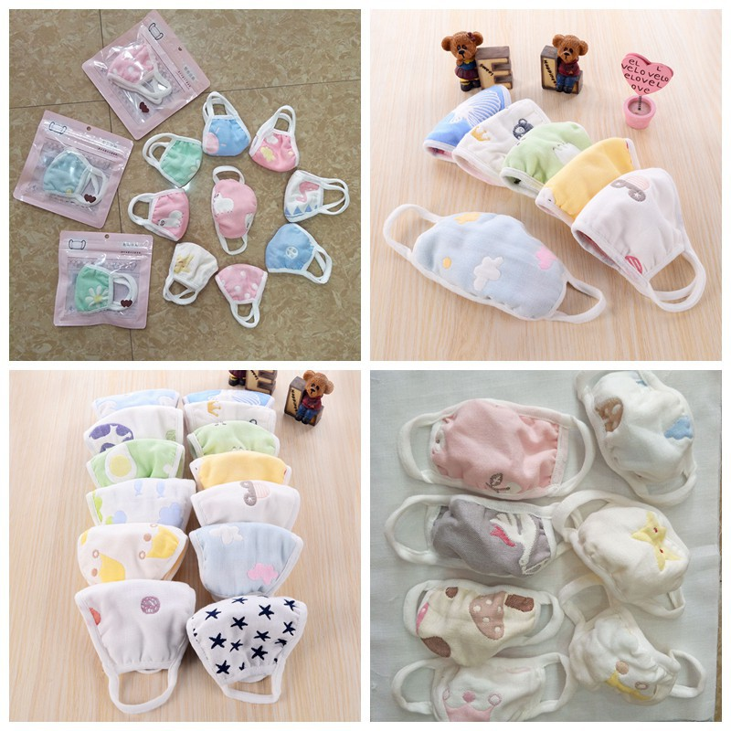 Reusable Children Mask With 10 Filters Kids Mouth Mask Anti-Fog Haze Dust Pm 2.5 Face Mask Breathable Layer Kids Mask