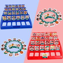 Funny Kids Family Guessing Who Is It Board Games Parent-child Interaction Toys for Children Memory Training Entertainment Party