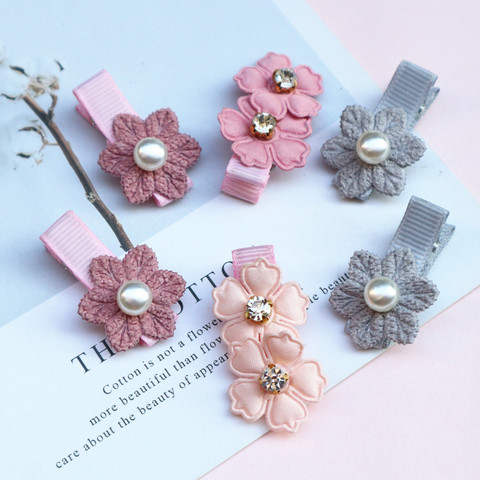 2/6/10pcs/set Synthetic Leather stars butterfly hair clips for girls flower hair Bow hairpin girls children hair accessories Islamabad