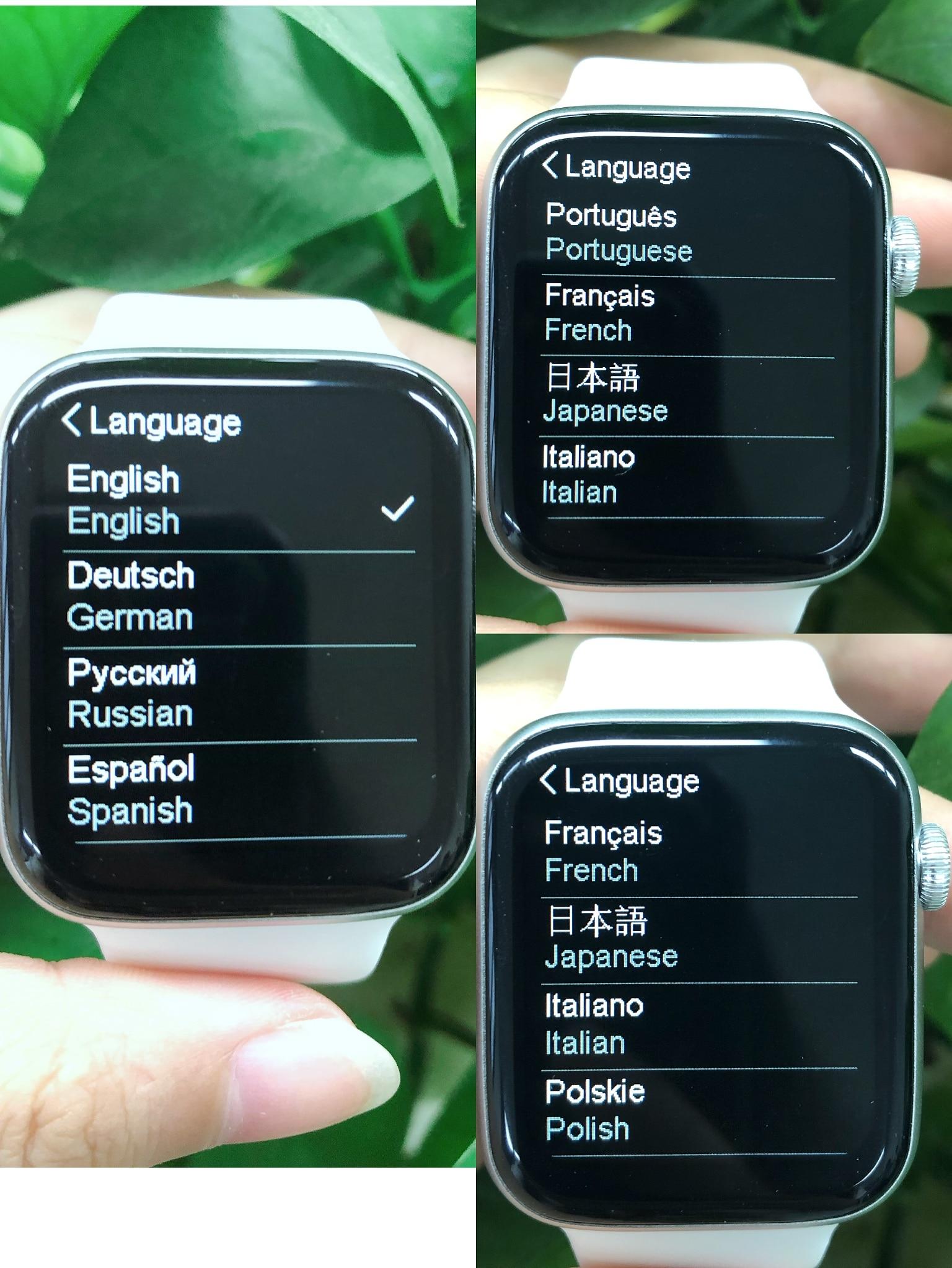 H09df6a758a7844548ce486379eaa9c9fT IWO W46 Better Than W26 Smartwatch IWO 12 Pro 13 Smart Watch Men Women DIY Face Wireless Charger Body Temperature Smartwatch