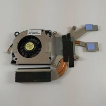 Новый оригинальный радиатор для Dell Latitude D620 D631, охлаждающий вентилятор UC218, совместимый с PP18L D630 Precision M2300, модуль охлаждения вентилятора