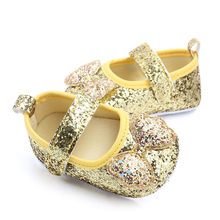 infant girl shoes Moccasins Shoes Bow-Knot Princess Shoes Toddler Walking Shoes Soft Soled Non-slip Footwear Baby Crib Shoes(China)