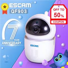 ESCAM QF009 1080P HD IP Camera Home Security WiFi Camara PTZ CCTV IR Camera Two-way Audio Baby Monitor iOS Android APP Control