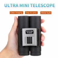 Recentemente Arrampicata Telescopio All'aperto Telescopio 20X32 Binocolo HD Portatile Sight-Seeing Telescopio di Campeggio e Trekking Teleskop # E