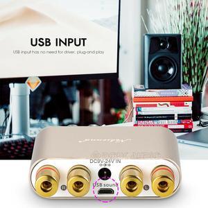 Image 5 - Nobsound Amplificador Digital HiFi TPA3116, 100W, Bluetooth, receptor de Audio HiFi estéreo, USB, DAC, con fuente de alimentación
