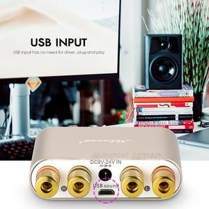 Image 5 - Nobsound HiFi 100W Mini TPA3116 Bluetooth Digital Amplifier Amp Stereo Amplifier HiFi Audio Receiver USB DAC With Power Supply