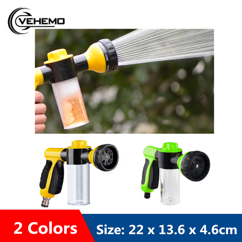 VEHEMO Universal High Pressure Foam Water Gun Car Washe Foam Gun  Machine Accessory Automobiles Wash Tools