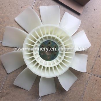 Excavator engine fan for Komatsu PC120-6 part number 6006257550 fengshou fs250 lenar 254 lenar 274 tractor the pto shaft part number