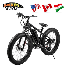 26 inch 30km/h 48V350W500W Electric Bicycle Snow Bike Fat Tire 40-50km Motorcycle Ebike 26*4.0 Tyre Model Lithium Battery 12A