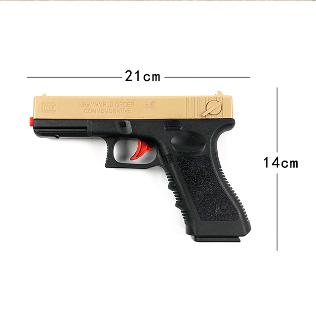 Outdoor Toys Kids Guns Weapon M1911 Pistol Airsoft Air Guns Plastic Model Collection Can Launch Guns Boys Toy For Kids 3