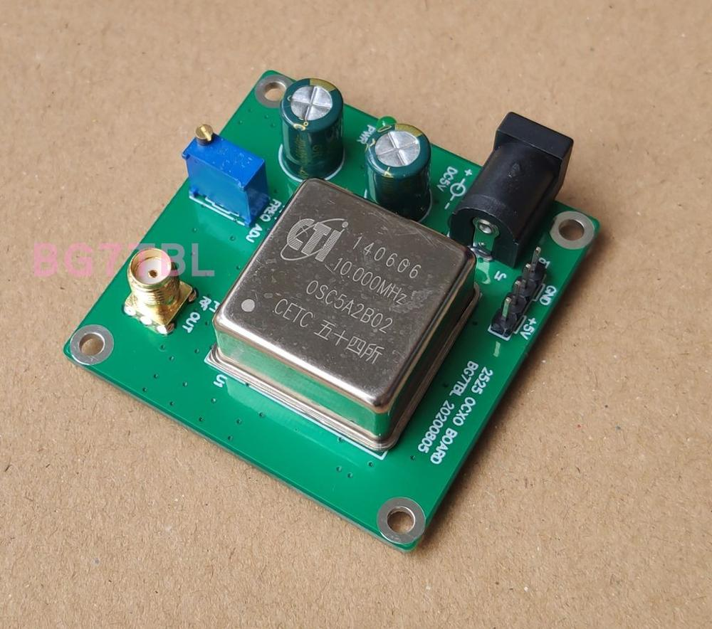 10M OCXO board, constant temperature crystal oscillator, 10MHz, good stability, sine wave output