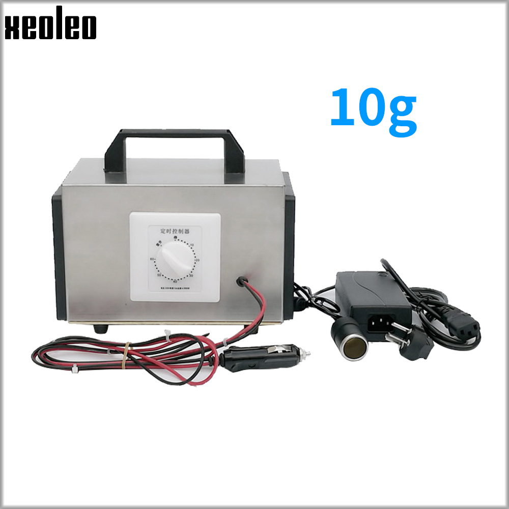 XEOLEO 10g/h Ozone Generator Portable Ozone Machine For Car/house 12V/220V Air Purifier Air Sterilization Disinfection Machine