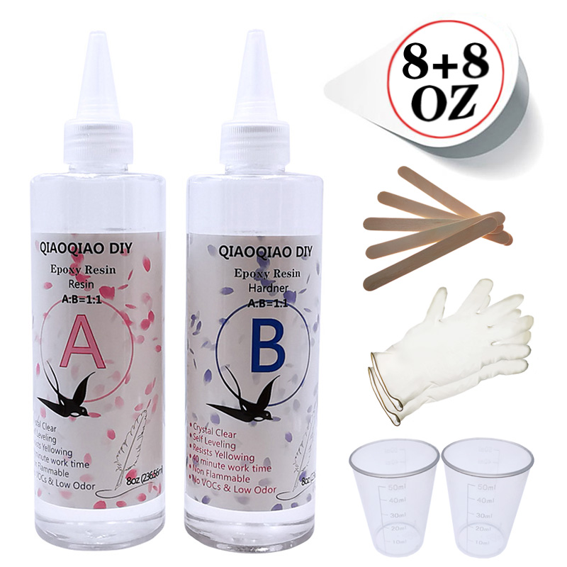 AB Epoxy Resin 1:1 Curing Agent Kit Fiber Reinforced Polymer Composite Material resin
