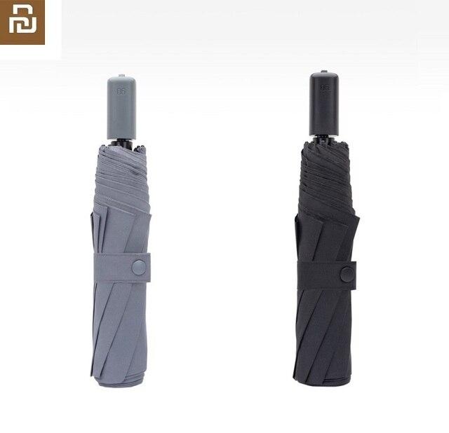 Youpin كبيرة ومريحة لجميع الأغراض مصباح مظلة ومظلة المحمولة عززت مظلة الشمس حماية UPF40 + المضادة للأشعة فوق البنفسجية