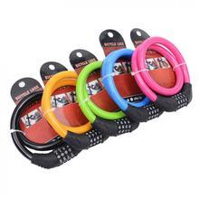 Универсальная Анти-Вор велосипед велосипедный замок на 4 цифры по ценам от производителя Комбинации пароль велосипед безопасность велосипед кабель Стальная проволока цепи Замок для велосипеда