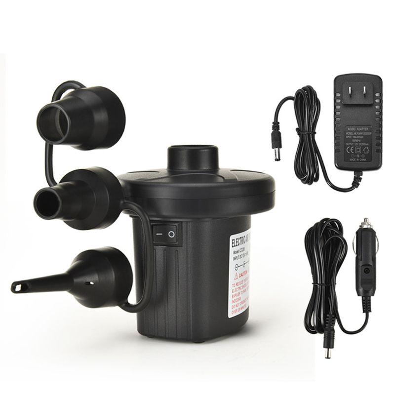 12V DC Air Pump For Electric Intex Inflatable Air Mattress Bed Boat Couch Pool Small Household Air Pump