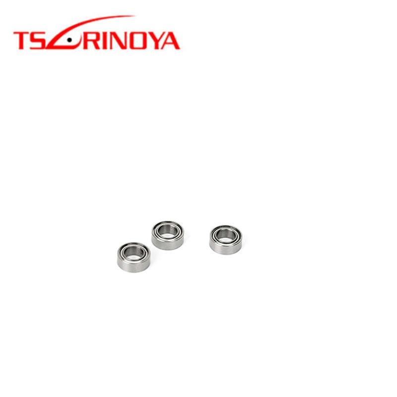 TSURINOYA 2 шт./лот 4*7*2,5 мм шариковый подшипник из нержавеющей стали для SHIMANO Рыболовная катушка daiwa Ручка Маленькая Рыболовная Снасть
