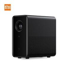 Xiaomi mijia 3D アンドロイド 6.0 プロジェクター dlp 1080 1080p 3500 ルーメン hdr wifi bluetooth miui テレビ 4 18k ミニポータブルホームのための PS4 ゲーム
