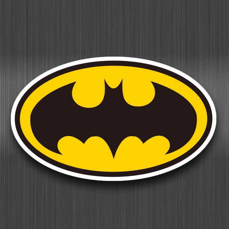 Batman Ký Nhựa PVC Chống Thấm Nước Miếng Dán Cho Bé Hành Lý Laptop Ván Trượt Ô Tô Xe Đạp Tủ Lạnh Đồ Bộ Hoạt Hình Dán