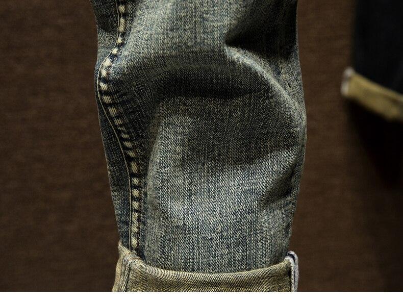 KSTUN Ripped Jeans for Men Slim Fit Retro Blue Stretch 2020 Hip Hop Spring Autumn Mens Jeans Brand Destroyed Torn Men's Denim Jeans 18