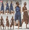 Лидер продаж, женское платье с принтом в горошек, модное платье с поясом, необычное платье, элегантное красивое платье, богемное платье для ж...