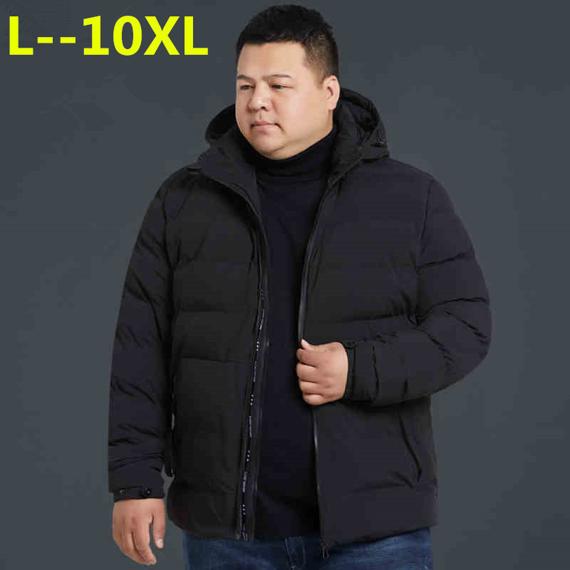10XL 8XL 6XL New Winter Jacket Men -20 Degree Thicken Warm Men Parkas Hooded Coat Fleece Man's Jackets Outwear Jaqueta Masculina