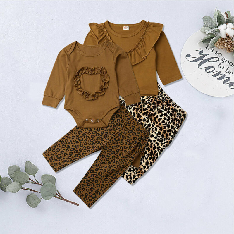 От 0 до 3 лет Одежда для новорожденных Одежда для маленьких девочек Осенняя футболка с длинными рукавами комбинезон с оборками, Топы + штаны с...