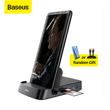 Baseus USB C 허브 Dex 스테이션 USB 3.0 HDMI USB 허브 삼성 S20 참고 20 화웨이 P40 메이트 30 도킹 스테이션 USB 타입 C 허브