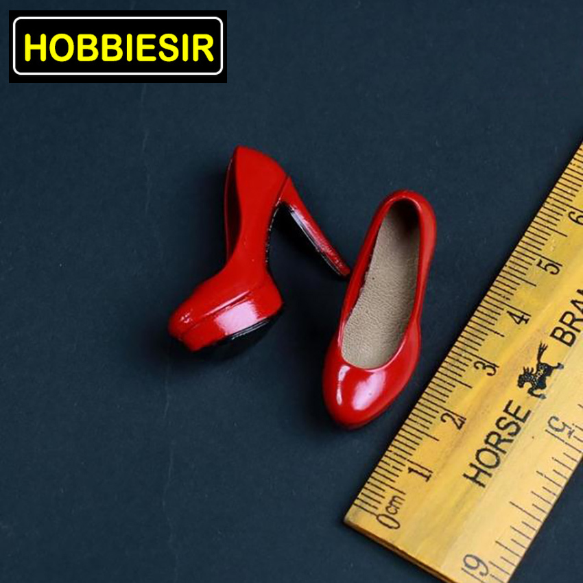 4 Colors 1:6 Scale <font><b>Female</b></font> <font><b>Sexy</b></font> Women High Heels Heightening Shoes Model <font><b>Figure</b></font> Fit For 12