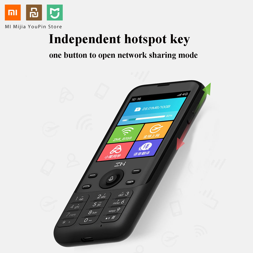 Image 2 - Xiaomi youpin ZMI Z1 4G Network Wifi Multi user Hotspot Sharing 5000mAh Power Bank Feature-in Smart Remote Control from Consumer Electronics