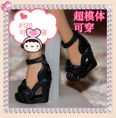 1/6 Doll Shoes Mix style High Heels Sandals Boots Colorful Assorted Shoes Accessories For Barbie Doll Baby Xmas DIY Toy 5
