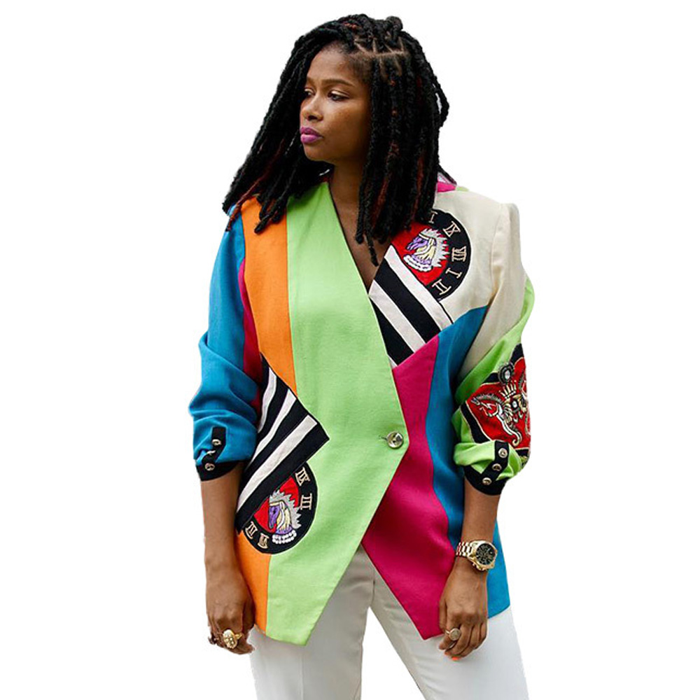 Clothing Shoes Accessories Coats Jackets Vests Fashion Women Fall Dashiki Long Sleeve African Print Short Casual Jacket Coat Us Sraparish Org