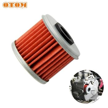OTOM Engine Oil Filter Cleaner Motorcycle For HONDA CRF 150R 250R 250X 450R 450X Dirt Bike Fuel Filter Cleaner image