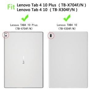 Image 2 - For Lenovo Tab4 10 TB X304F Case Kids Shockproof EVA Full Body Handle Cover For Lenovo Tab 4 10 PLUS TB X704F X704N 10.1 Fundas