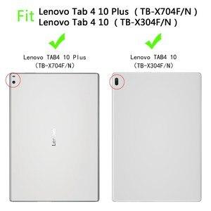 Image 2 - Чехол для Lenovo Tab 4 10 ТБ X304F, детский противоударный чехол с полным покрытием ручки из ЭВА для Lenovo Tab 4 10 PLUS, чехлы для Lenovo X704N 10,1 дюйма