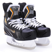 Winter Adult Teenagers Professional Breathable Thick Thermal Warm Ice Hockey Skates Shoes With Ice Blade Comfortable Beginner