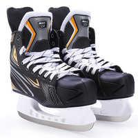 Winter Erwachsene Jugendliche Professionelle Atmungs Dicken Thermische Warme Eis Hockey Skates Schuhe Mit Eis Klinge Komfortable Anfänger