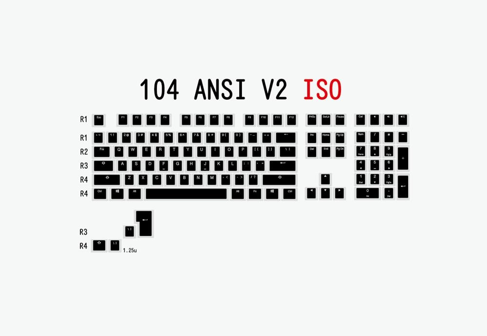 布丁V2-黑白-104 ISO